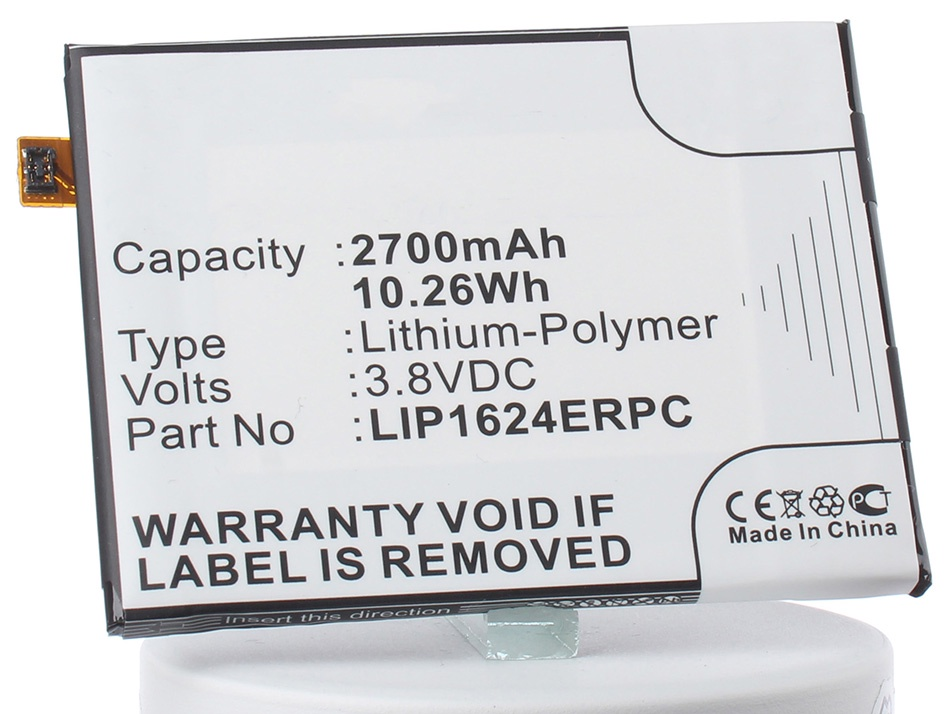 Аккумулятор для телефона iBatt iB--Xperia-X-M2866