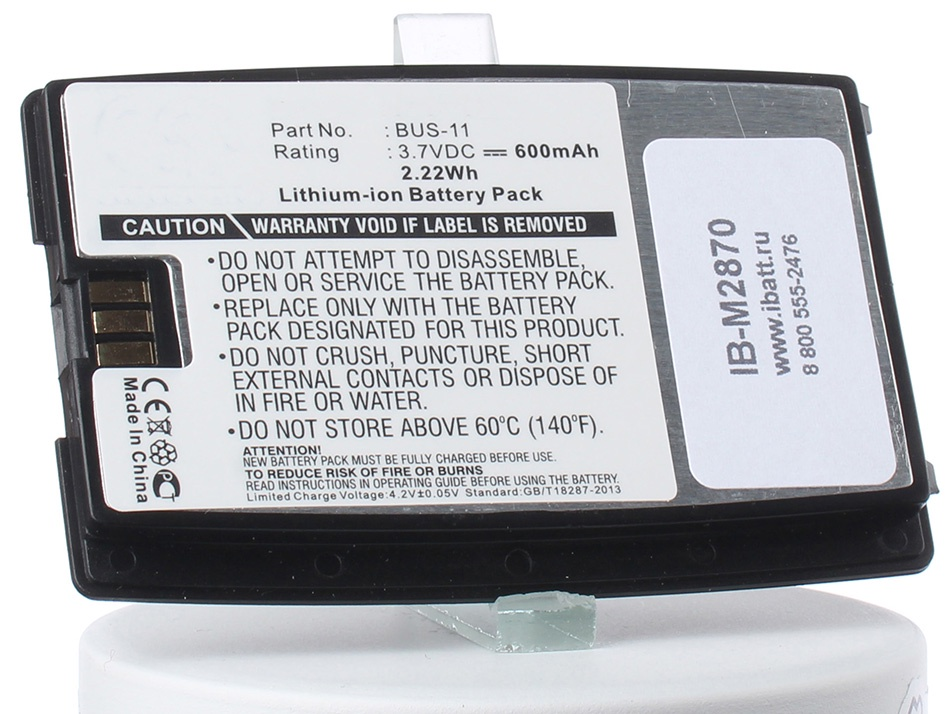 Аккумулятор для телефона iBatt iB-Sony-Ericsson-T28-M2870 аккумулятор для телефона ibatt bst 22 для sony ericsson t306 t300 t310