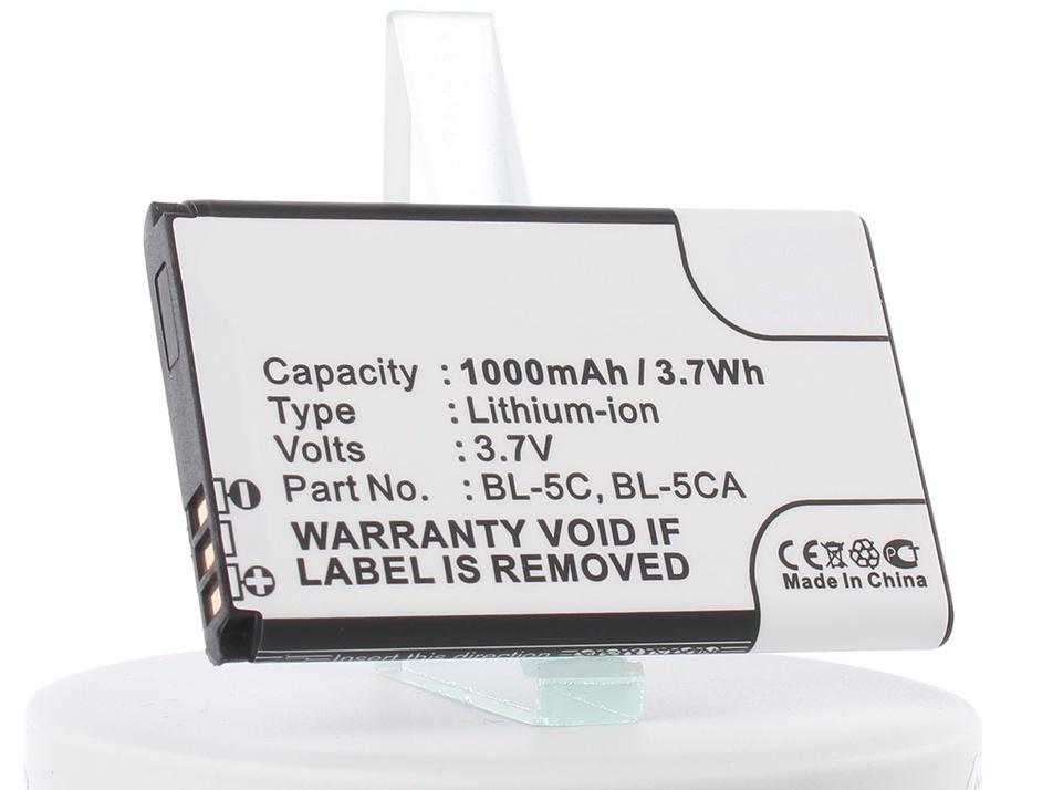 Аккумулятор для телефона iBatt iB-BL-5CA-M288