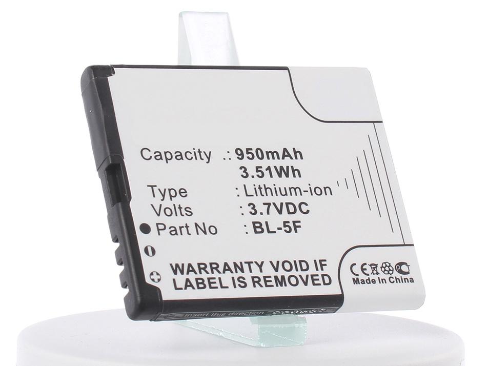 Аккумулятор для телефона iBatt iB-Nokia-N95-M290