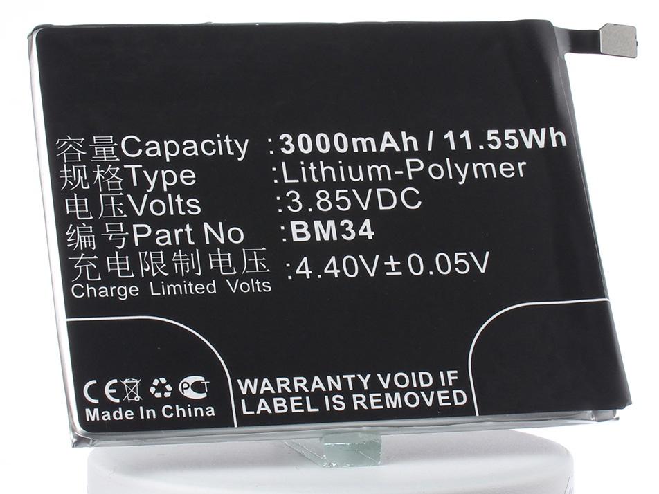 Аккумулятор для телефона iBatt iB-Xiaomi-Mi-Note-Pro-M2979 аккумулятор для телефона ibatt bm21 для xiaomi mi note libra