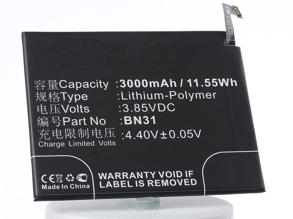 Аккумулятор для телефона iBatt iB-Xiaomi-Mi-5X-M2999 xiaomi mi 5x 4g phablet english and chinese version