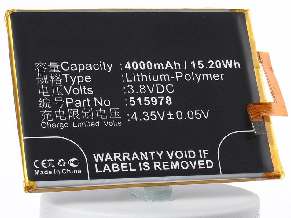 Аккумулятор для телефона iBatt iB-ZTE-Blade-X3-M3010 сотовый телефон zte blade x3 gold