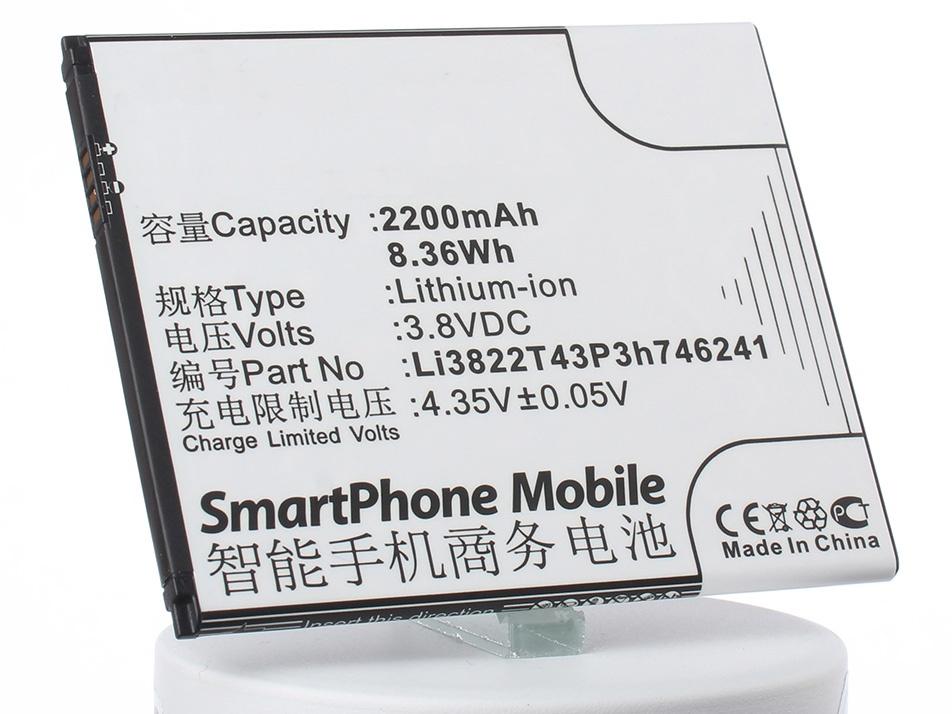 Аккумулятор для телефона iBatt iB-ZTE-Blade-A465-M3063 чехол skinbox для zte blade a465 2000000092881 черный