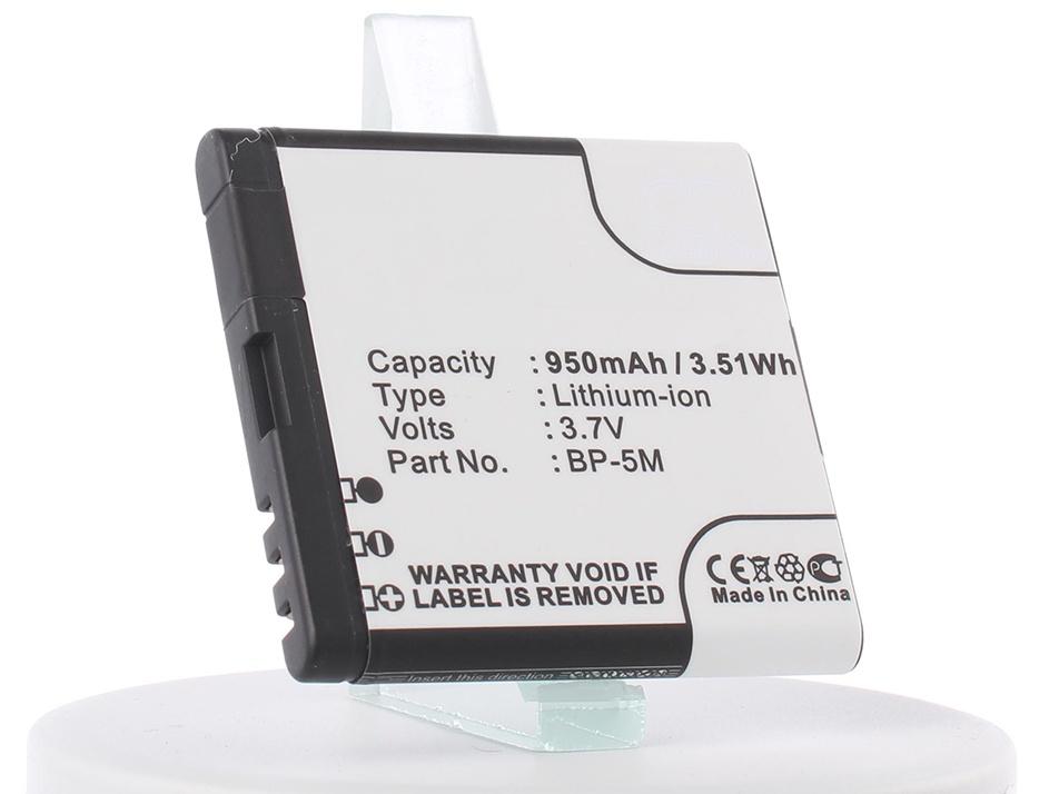 Аккумулятор для телефона iBatt iB-Nokia-5610-M309
