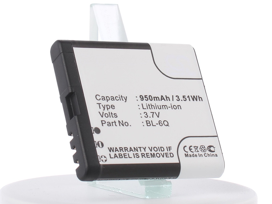 Аккумулятор для телефона iBatt iB-Nokia-6700-Classic-M315