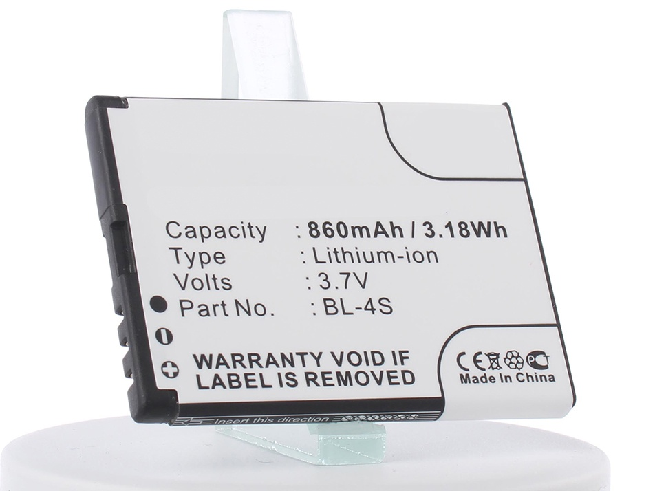 Аккумулятор для телефона iBatt iB-Nokia-7020-M318