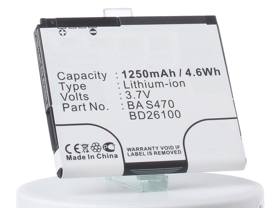 Аккумулятор для телефона iBatt iB-BA-S470-M351 аккумулятор для телефона ibatt bb81100 cs ht8585sl ba s400 для htc hd2 leo 100 hd2 htc t8585 leo leo