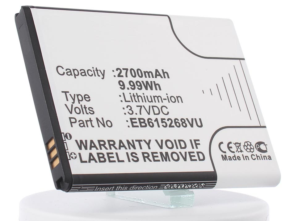 Аккумулятор для телефона iBatt iB-EB615268VK-M389 все цены