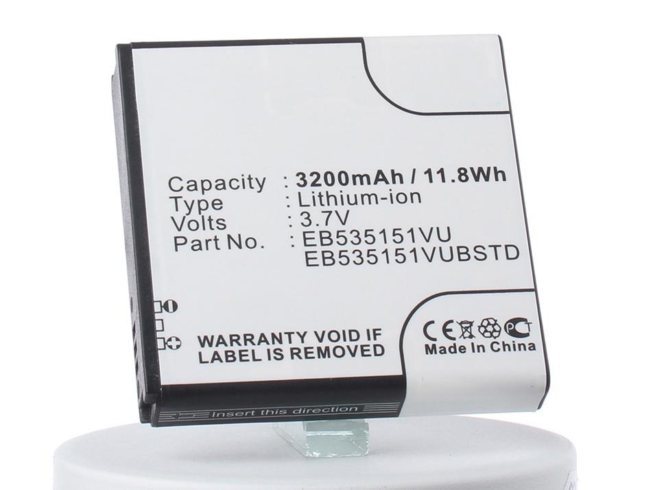 Аккумулятор для телефона iBatt iB-Samsung-GT-i9070-M420