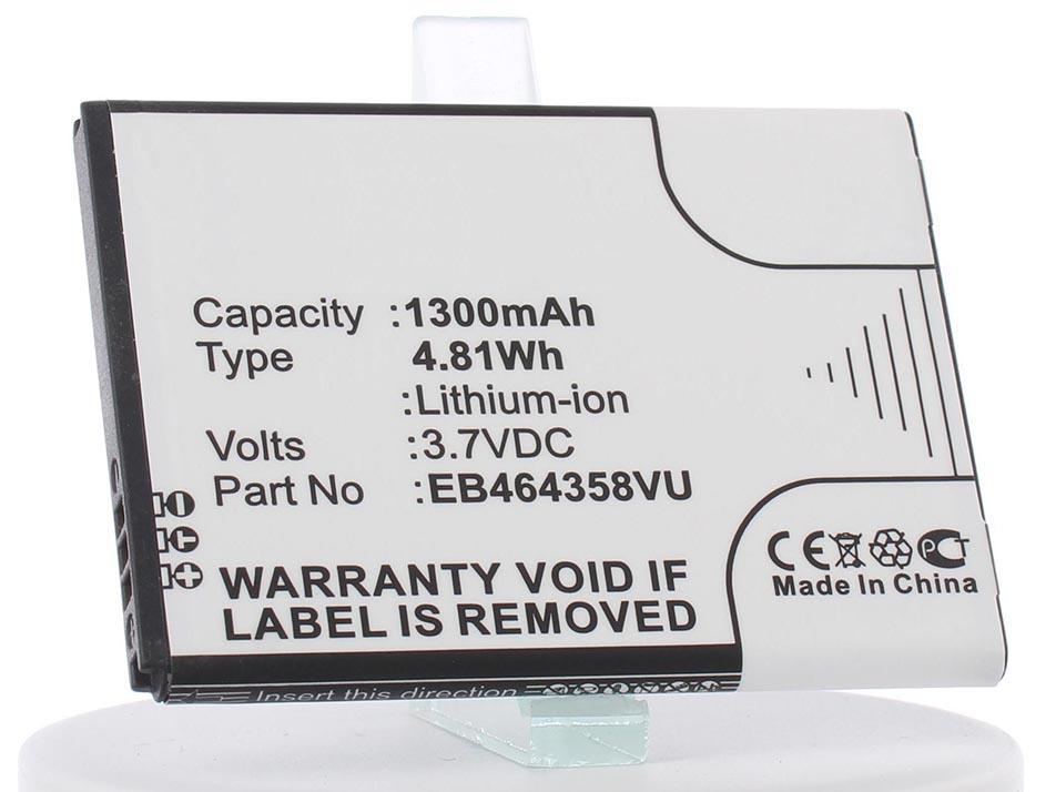 Аккумулятор для телефона iBatt iB-Samsung-GT-S6102-Galaxy-Y-Duos-M422