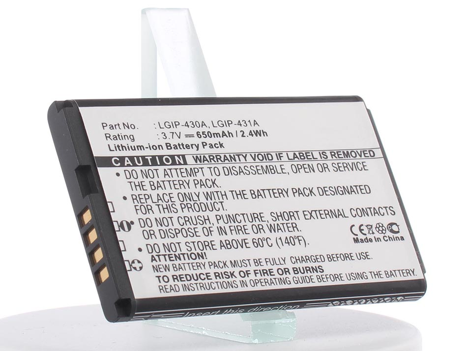 Аккумулятор для телефона iBatt iB-LGIP-431A-M457 аккумулятор для телефона ibatt lgip 430a lgip 431a для lg 220c kp110 gb102 ce110 gs170 410g cp150 kp210 gb130 km330 kp235 kf310 kp230 kp170 kp160 100c 230 nite 300g ax155 ax585 rhythm cb630 invision g100 kf311