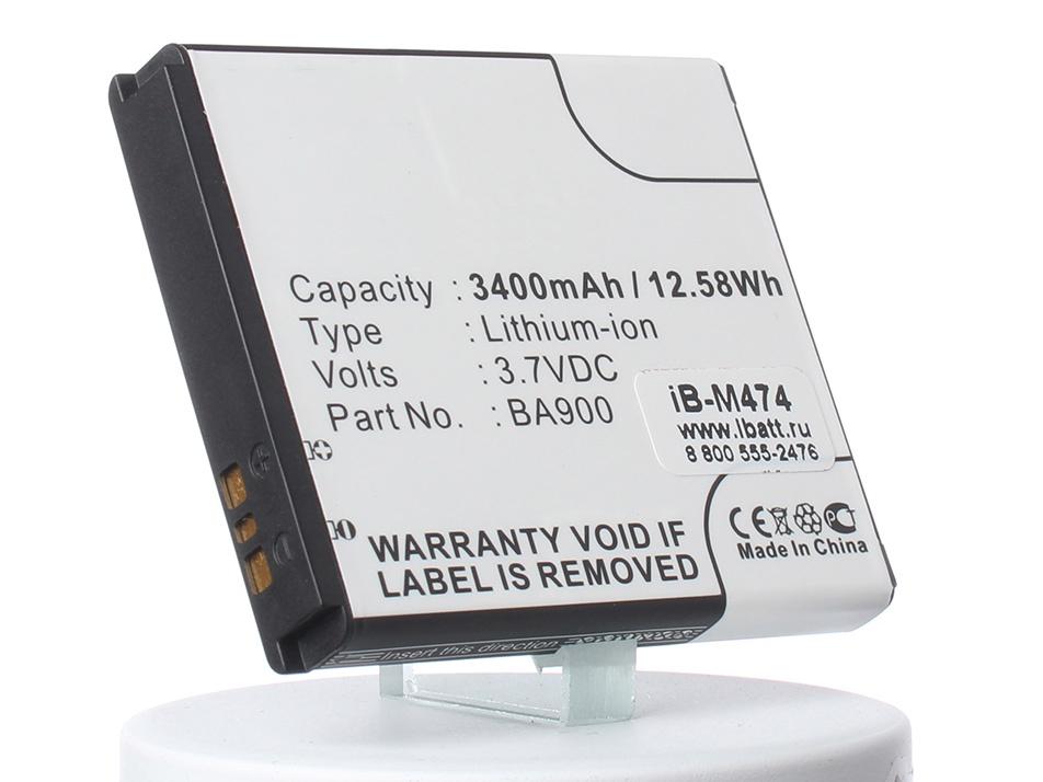 Аккумулятор для телефона iBatt iB--Xperia-TX-LT29i-M474