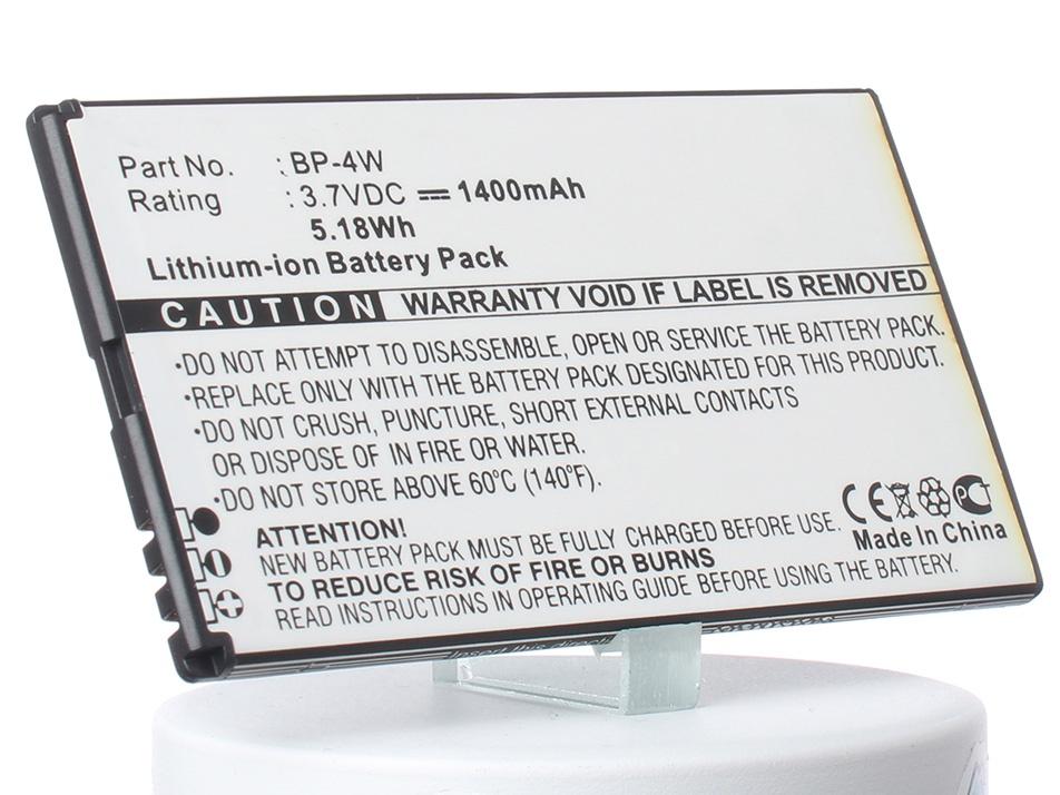 Аккумулятор для телефона iBatt iB-Nokia-Lumia-810-M495 аккумулятор для телефона craftmann bl 4j для nokia c6 c6 00 nokia 600 lumia 620