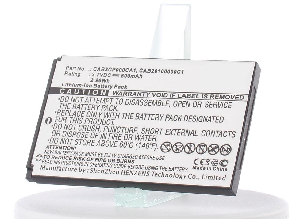 Аккумулятор для телефона iBatt iB-TCL-I802-M496 one touch go play
