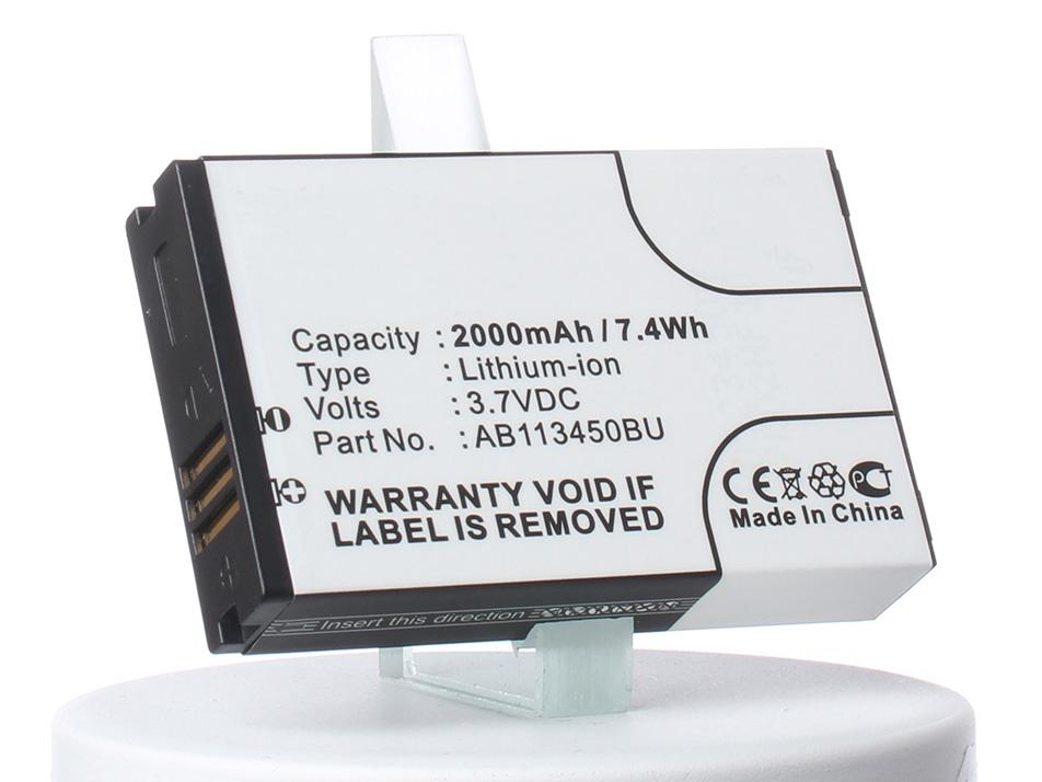 Аккумулятор для телефона iBatt iB-Samsung-GT-E2370-M508