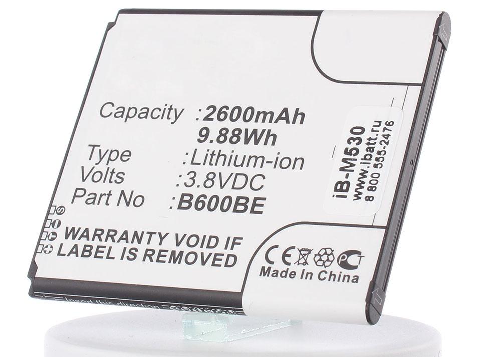 цена на Аккумулятор для телефона iBatt iB-EB-B600BE-M530