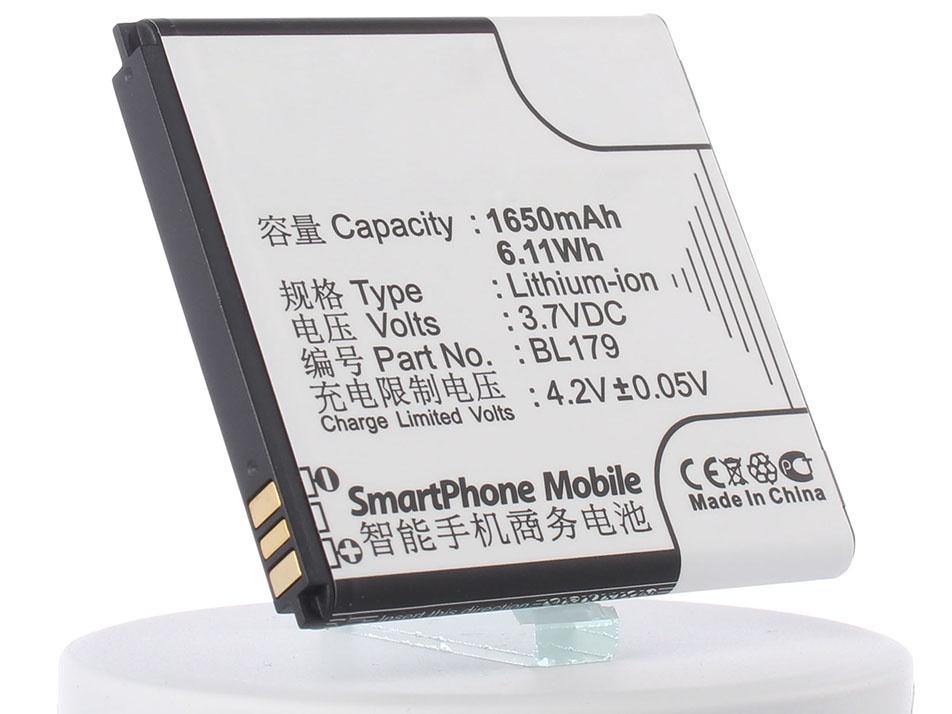 Аккумулятор для телефона iBatt iB-BL179-M559 аккумулятор для телефона ibatt ib lenovo a660 m559