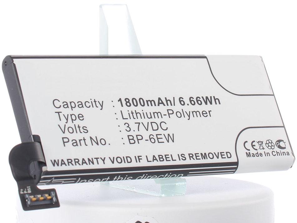Аккумулятор для телефона iBatt iB-Nokia-Lumia-900-M587