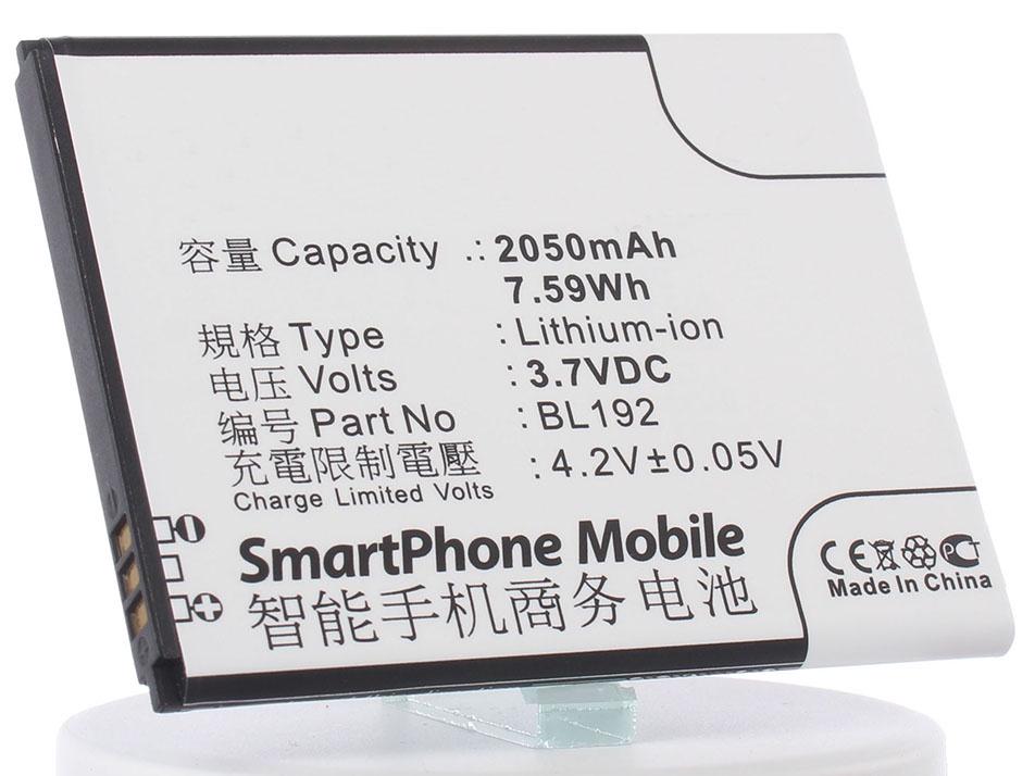 Аккумулятор для телефона iBatt iB-Lenovo-A328-M589 аккумулятор для телефона ibatt bl208 для lenovo s920 s920 ideaphone