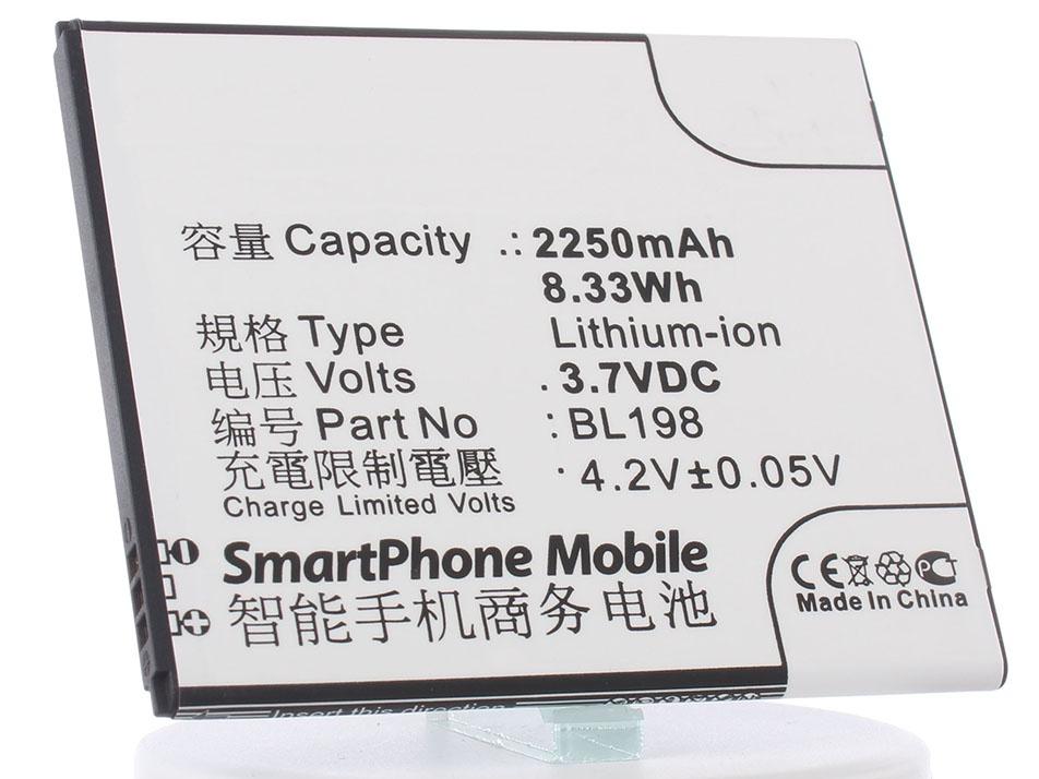 Аккумулятор для телефона iBatt iB-Lenovo-A859-M591 цена