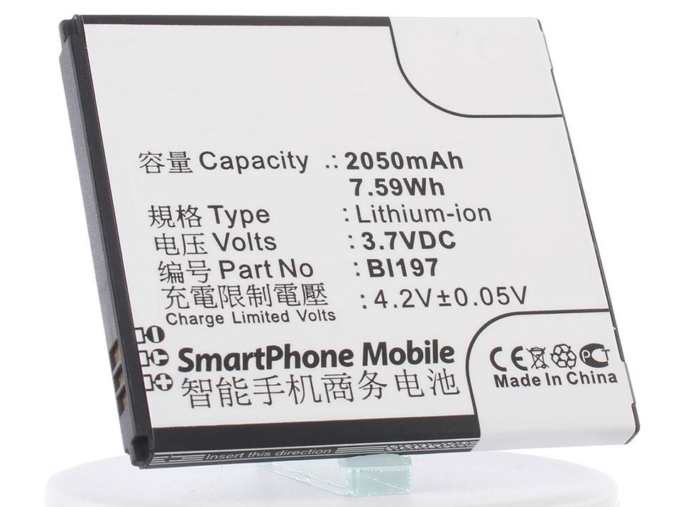 Аккумулятор для телефона iBatt iB-Lenovo-S750-M592 аккумулятор для телефона ibatt ib lenovo s820 m639