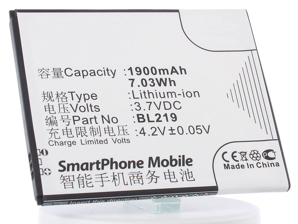 Аккумулятор для телефона iBatt iB-Lenovo-A916-M640 аккумулятор для телефона ibatt ib bl219 m640