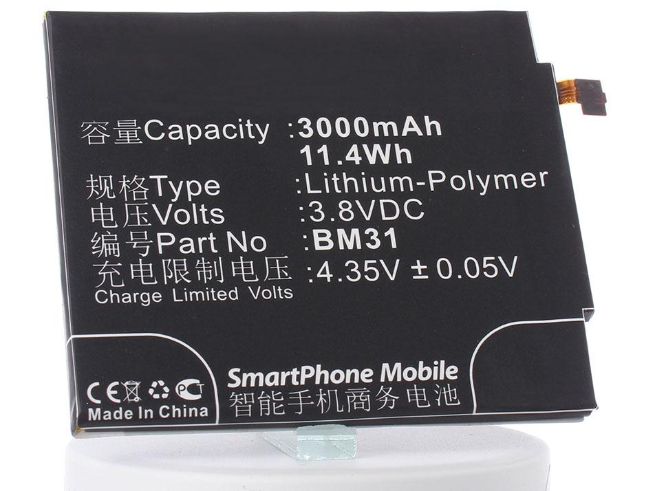 Аккумулятор для телефона iBatt iB-Xiaomi-Mi3-M654 цены