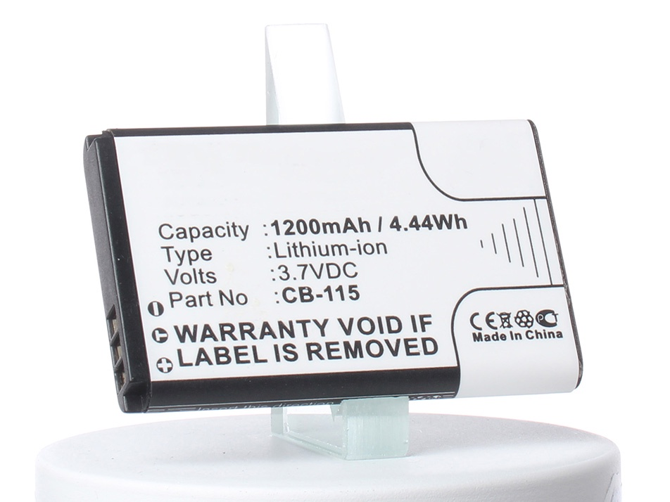 Аккумулятор для телефона iBatt iB-CAT-B100-M667 аккумулятор для телефона ibatt ib li3817t43p3h595251 m612