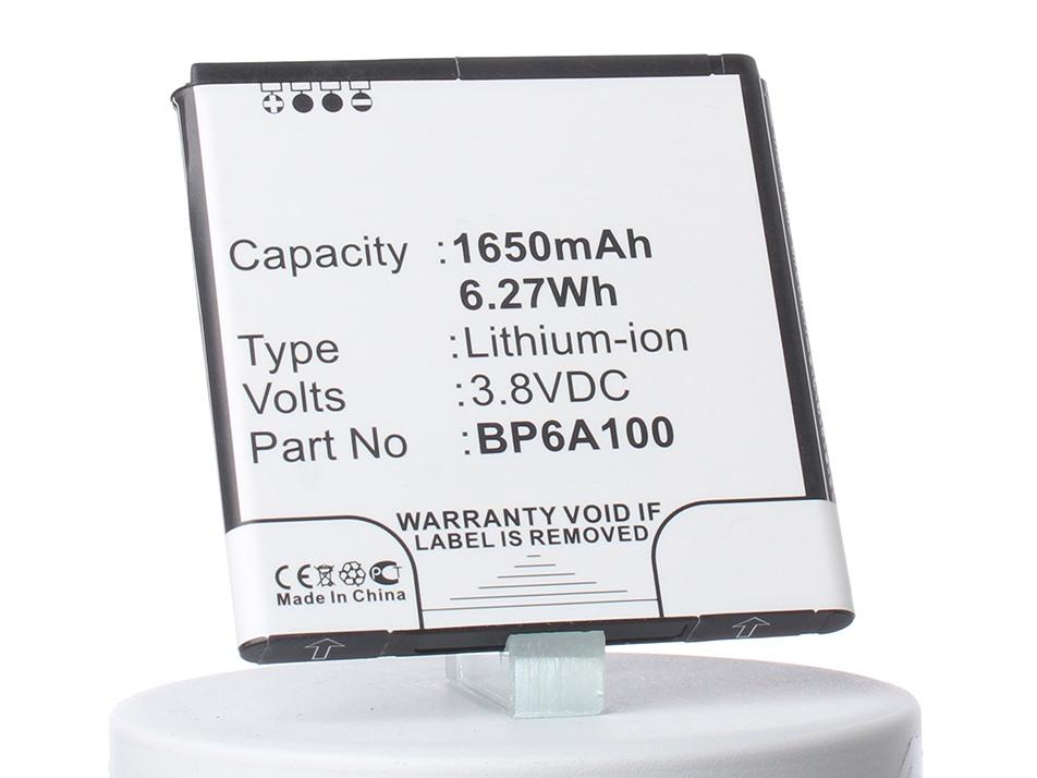 Аккумуляторная батарея iBatt iB-35H00190-09M-M668 1650mAh. аккумулятор для телефона ibatt ib bp6a100 m668