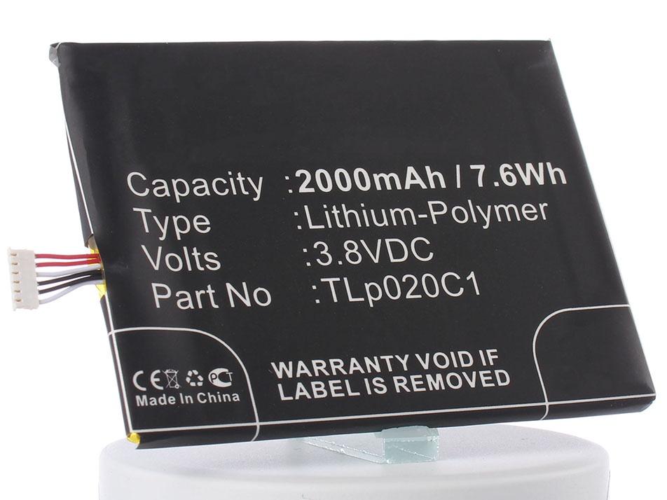 Аккумулятор для телефона iBatt iB-TLp020C1-M735 цена