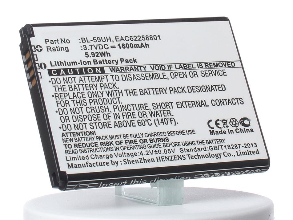 Аккумулятор для телефона iBatt iB-EAC62258801-M768 аккумулятор для телефона ibatt bl 59uh eac62258801 для lg d320 d620 d315 d618 optimus g2 mini d620 optimus g2 mini