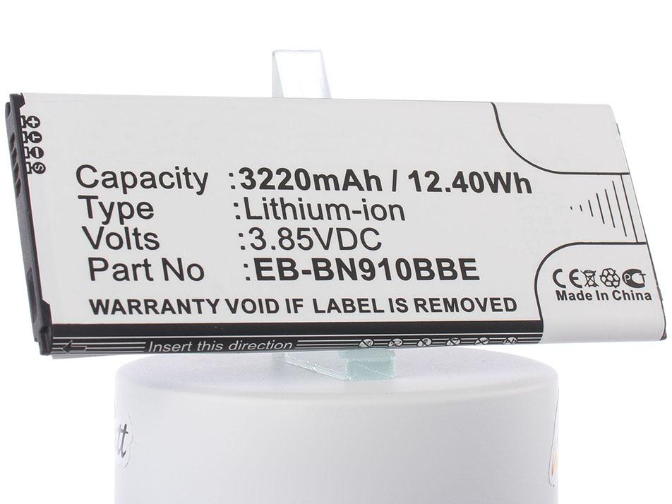 Аккумулятор для телефона iBatt iB-EB-BN910BBK-M786 аккумулятор для телефона ibatt ib eb bc700abe m2711