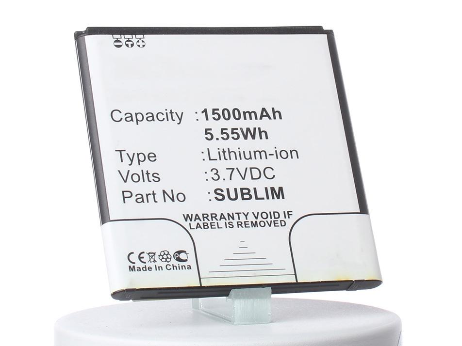 Аккумулятор для телефона iBatt iB-Fly-IQ442-M833 аккумулятор для телефона ibatt ib fly iq4403 m777