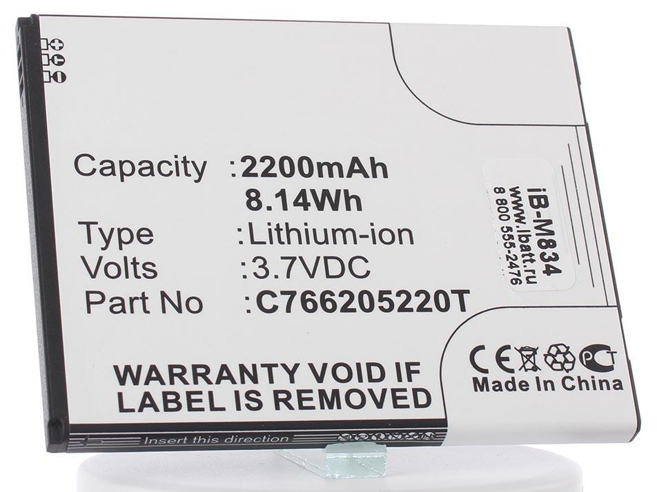Аккумулятор для телефона iBatt iB-teXet-TM-5200-M834