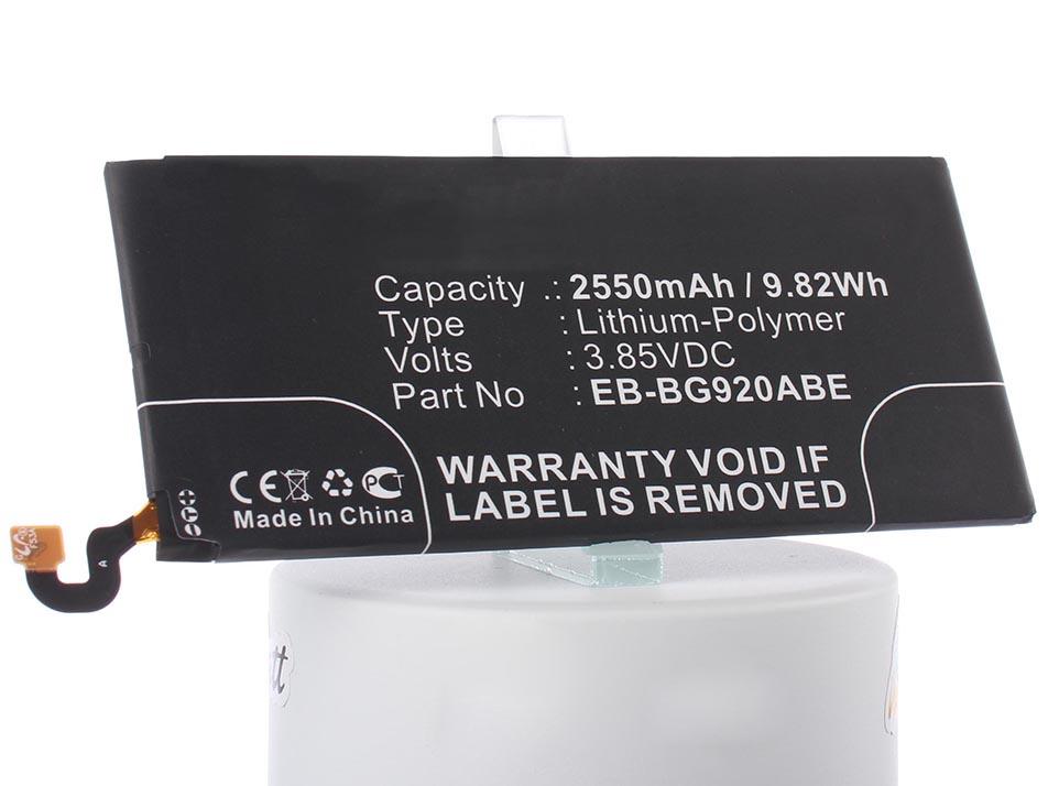 Аккумулятор для телефона iBatt iB-Samsung-Galaxy-S6-M862