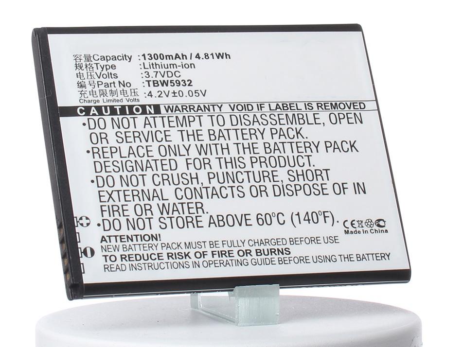 Аккумулятор для телефона iBatt iB-Fly-IQ442-M908 аккумулятор для телефона ibatt ib bl5203 m908