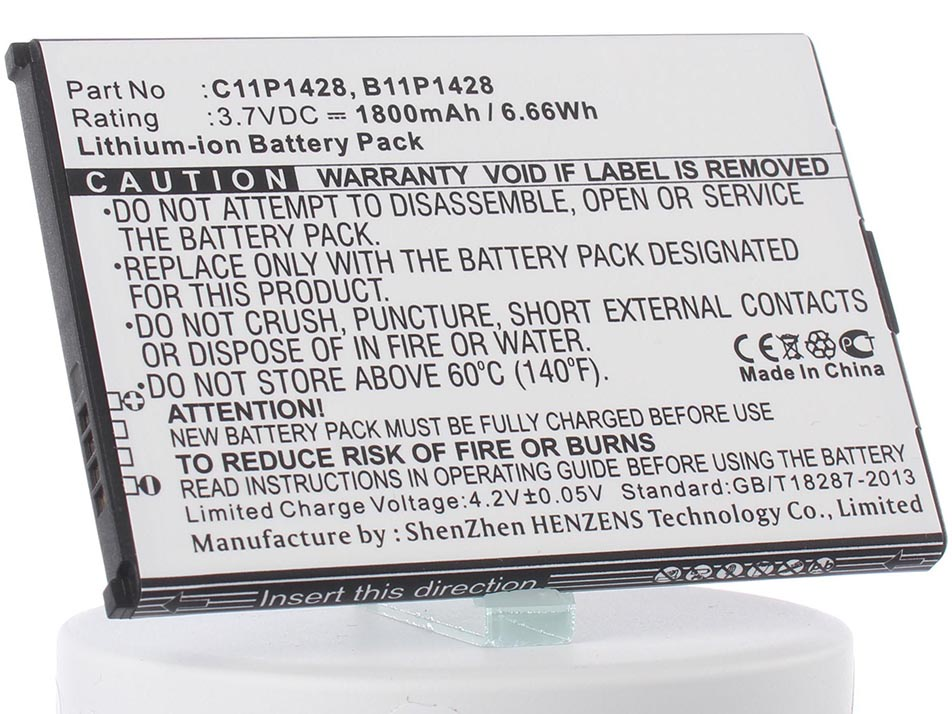 Аккумулятор для телефона iBatt iB-Asus-ZE500KL-M917 чехол с флипом для asus zenfone 2 laser ze500kl ze500kg df aflip 04
