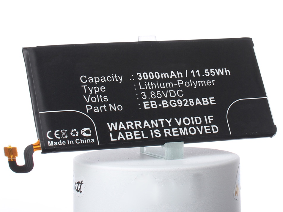 Аккумулятор для телефона iBatt iB-Samsung-Galaxy-S6-Edge-Plus-M922