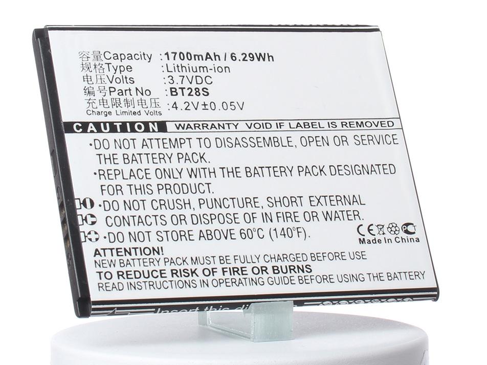 Аккумулятор для телефона iBatt iB-Zopo-ZP590-M965 аккумулятор для телефона ibatt ib hb3742a0ebc m214