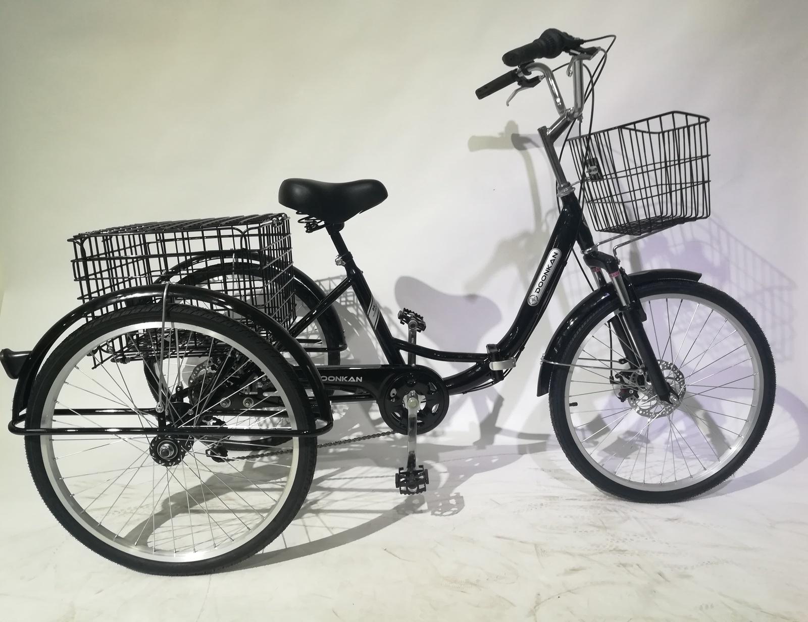 Велосипед DOONKAN Trike 24, черный