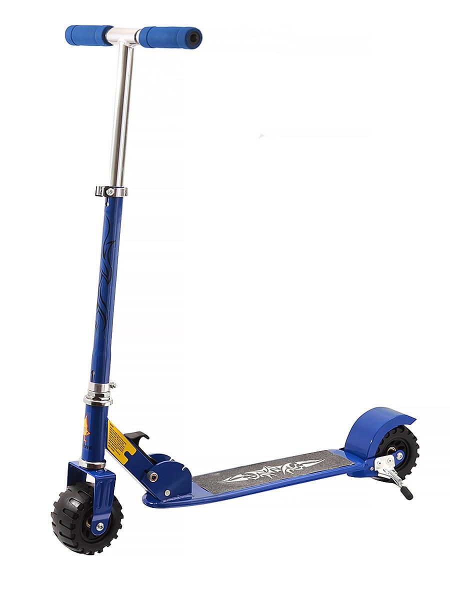 Самокат JOEREX для взрослых SC-2228/синий, синий цена