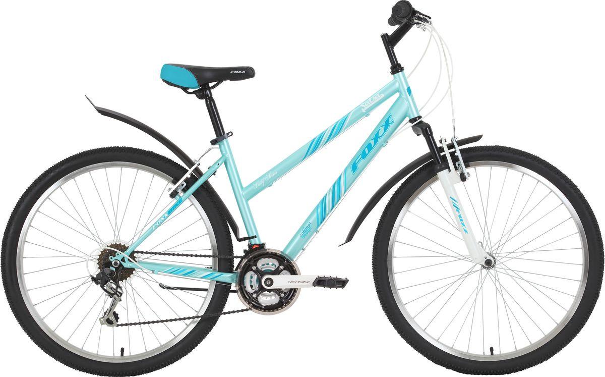Велосипед горный Foxx Salsa, колесо 26, рама 17, 26SHV.SALSA.17TQ9, бирюзовый