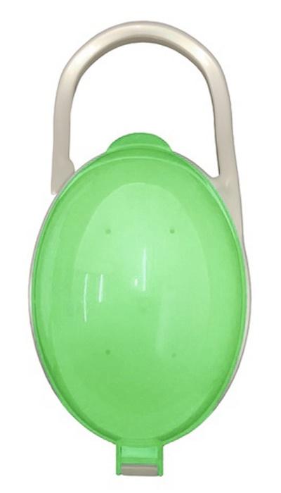 Будь здоров Футляр контейнер для соски пустышки, зеленый бады будь здоров каталог