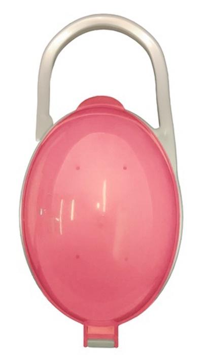 Будь здоров Футляр контейнер для соски пустышки, розовый бады будь здоров каталог