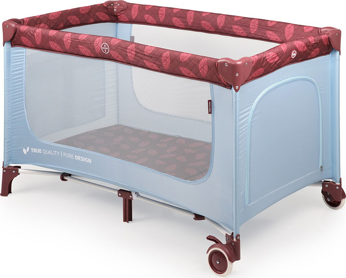 Манеж-кроватка Happy Baby Martin, голубой кровать манеж happy baby martin sand