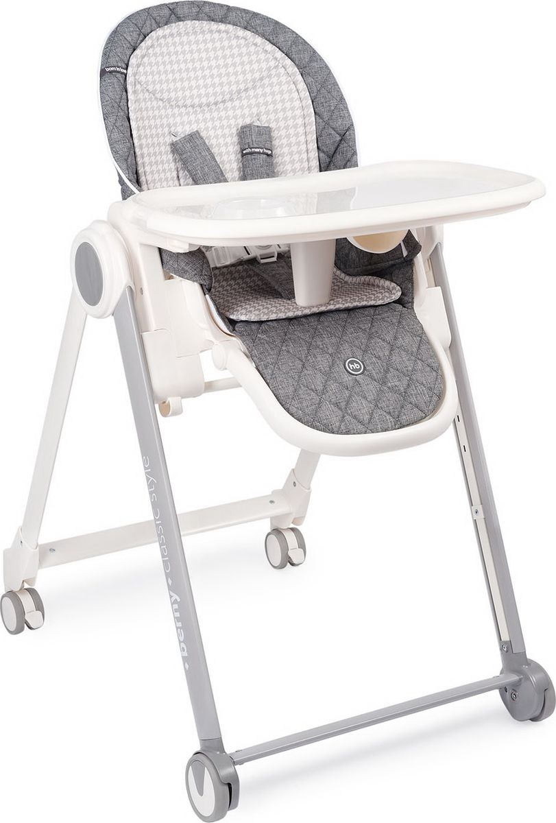 Стульчик для кормления Happy Baby Berny Basic, темно-серый набор для кормления детей happy baby anti colic baby bottle 10009 lime