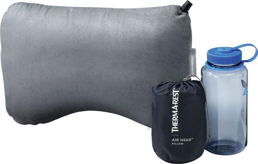 Подушка Therm-a-Rest Air Head Pillow, 09234, серый, 44 х 30 см