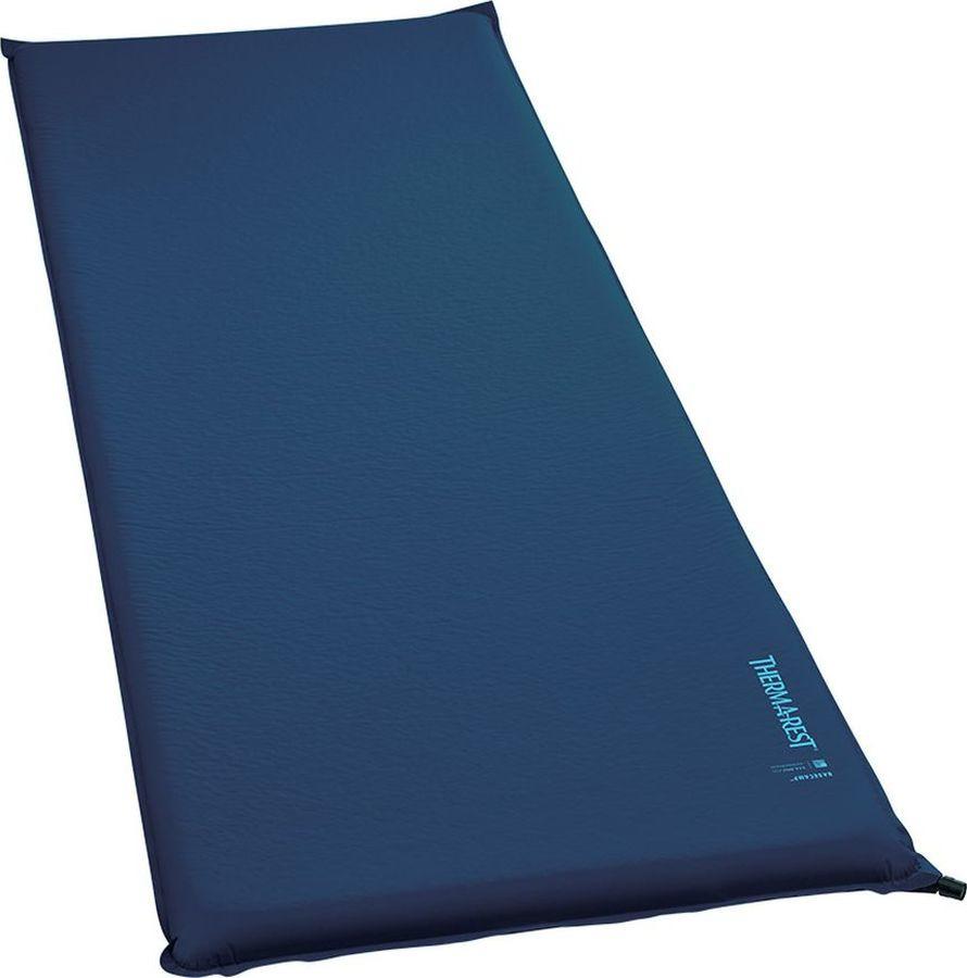 Коврик самонадувающийся Therm-a-Rest BaseCamp Large, 11013, синий, 183 х 63 см