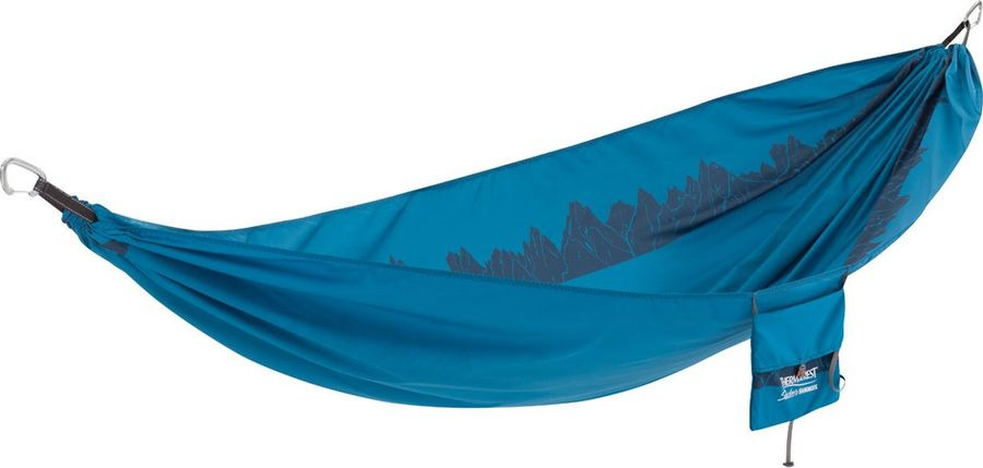 Гамак Therm-a-Rest Slacker Hammock Single, 09626, синий, 295 х 160 см гамак therm a rest therm a rest slacker hammock double фиолетовый double
